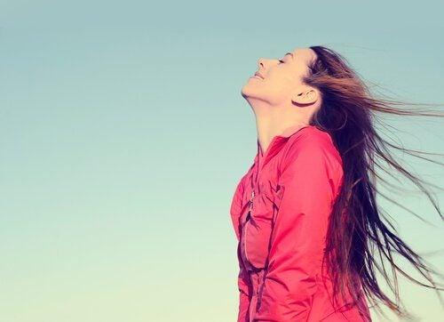 Manieren om gewicht te verliezen, door goed te ademen