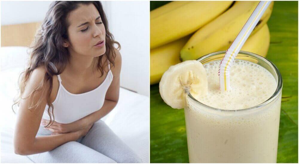 Maagzweren verzachten met een smoothie van aardappel en banaan