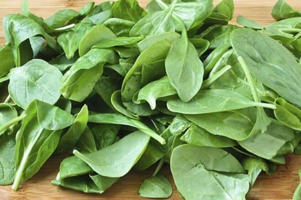 Bouw spieren op met spinazie