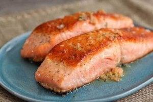Bouw spieren op met vette vis