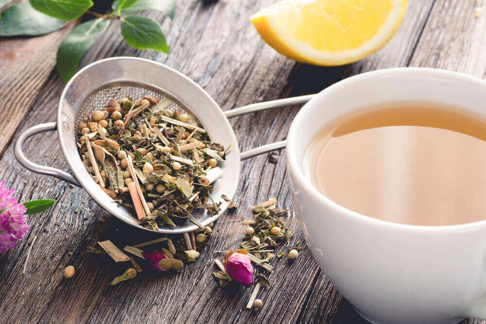 Spataderen kan je voorkomen met bepaalde theesoorten