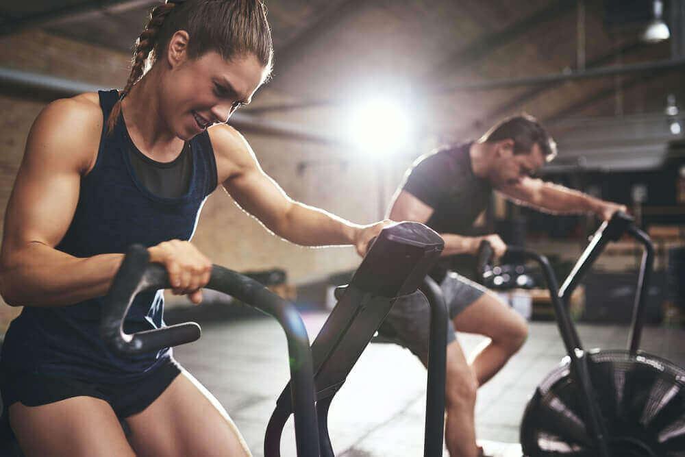 Spataders verminderen door veel aan cardio te doen
