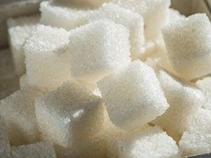 Stoppen met het eten van suiker