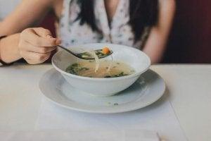 Vetverbrandende soep