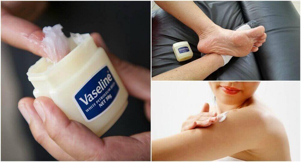6 geneeskrachtige toepassingen van vaseline die je wil leren kennen