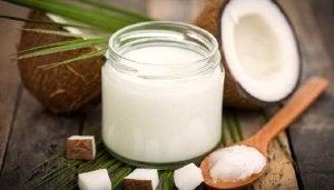 Overmatig zweten behandelen met kokosolie