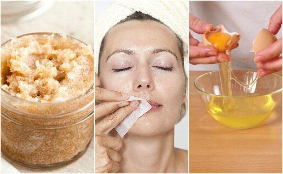 Ongewenst lichaamshaar verwijderen met vier natuurlijke producten