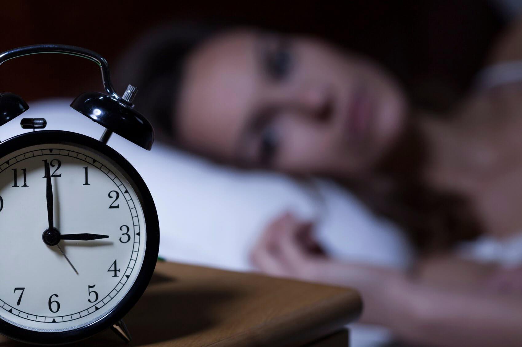 Te weinig slapen kan leiden tot angstgevoelens