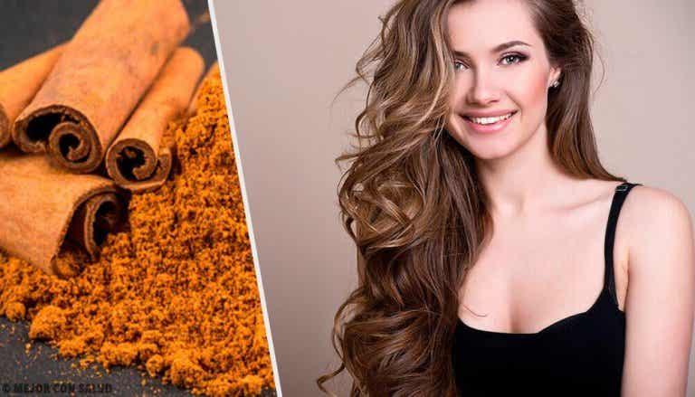 Gebruik kaneel voor mooi en gezond haar