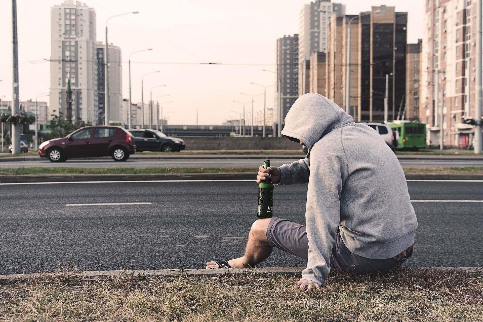 Overmatig alcoholgebruik kan leiden tot angstgevoelens