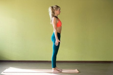 Omvang van je boezem verkleinen met ballerina-armen