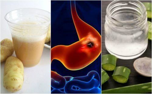 Snellere verlichting van maagzweren met 5 huisremedies