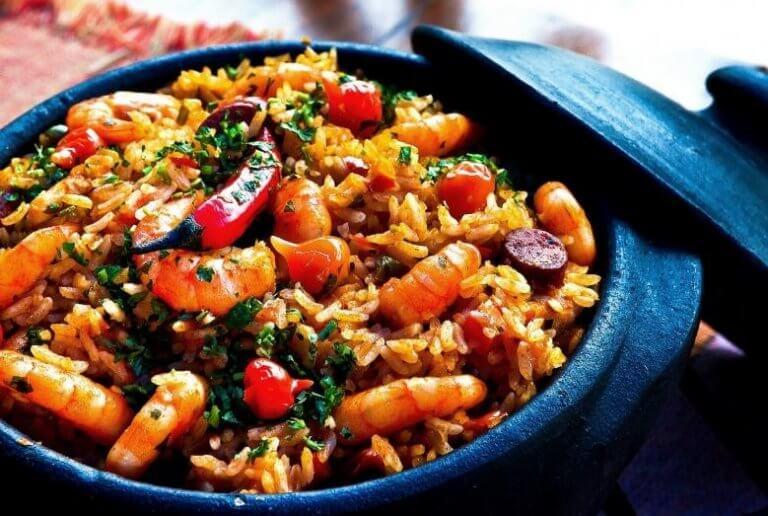 Heerlijk Chinees rijstrecept met garnalen