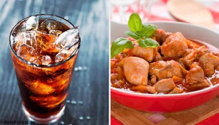 2 recepten met Coca-Cola en kip