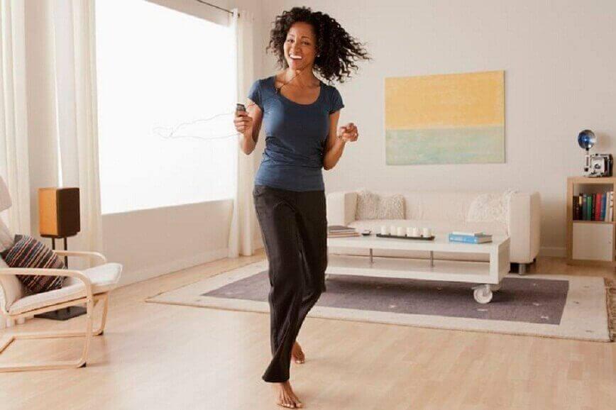 Het metabolisme versnellen door te dansen