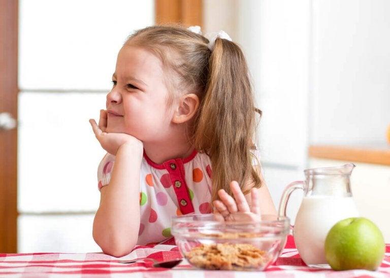 Natuurlijke oplossingen als je kind een slechte eetlust heeft