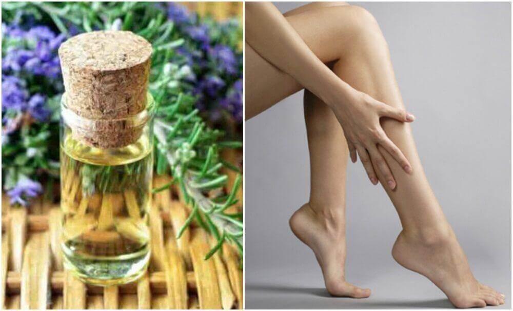 Hoe maak je een verstevigende olie voor je benen