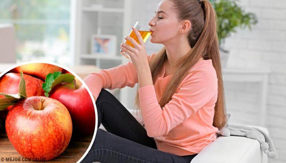 8 voordelen van het drinken van appelsap
