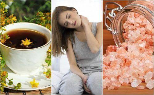 5 natuurlijke remedies voor pijn in je nek