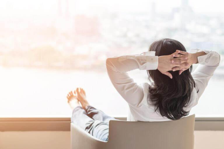 Tijdens de menopauze gelukkig zijn