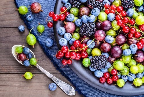 Fruit in plaats van koekjes