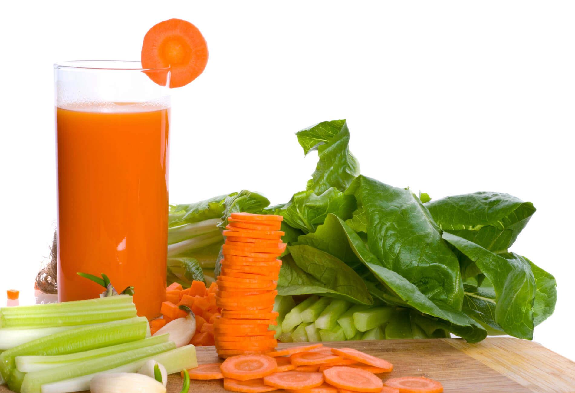 Gastritis behandelen met gezonde sappen