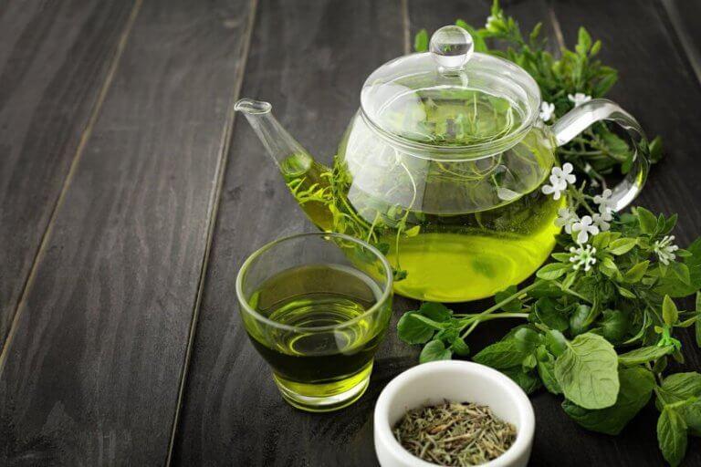 Natuurlijke vetverbranders zoals groene thee
