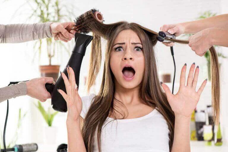 Je haar drogen is heel slecht voor je haar