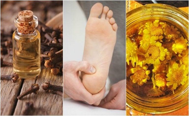 Leer je hielpijn te verlichten met 6 natuurlijke remedies