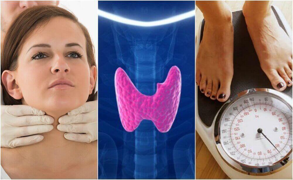 10 symptomen van mogelijke hypothyreoïdie