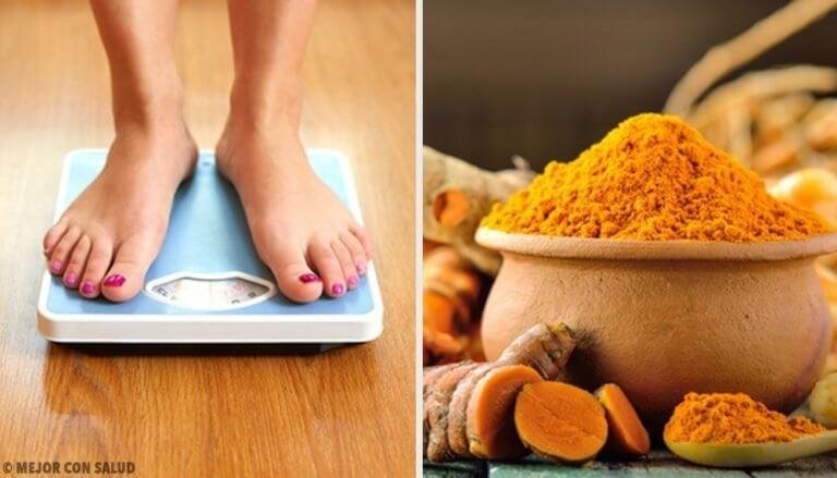 Gewicht verliezen met dit heerlijke kurkumarecept