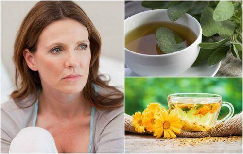 Opvliegers in de menopauze verminderen met 5 remedies