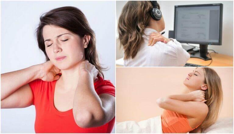 Zes oorzaken van een pijnlijke nek die je misschien niet kent