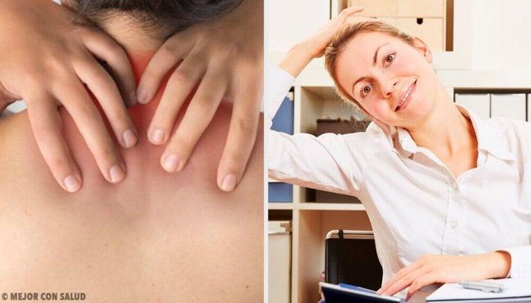 Zes simpele oefeningen tegen nekpijn