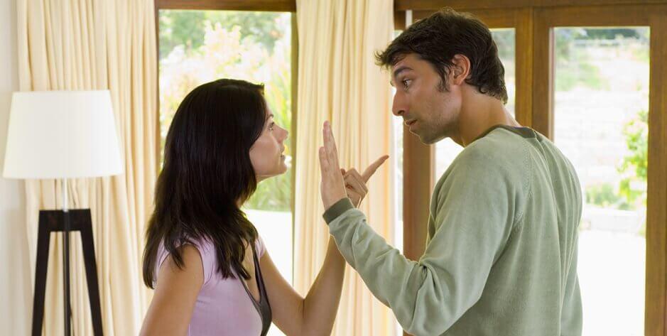 Ruzie in een relatie