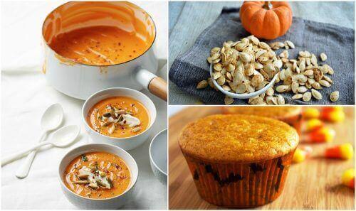 4 recepten met pompoen voor een voedzaam ontbijt