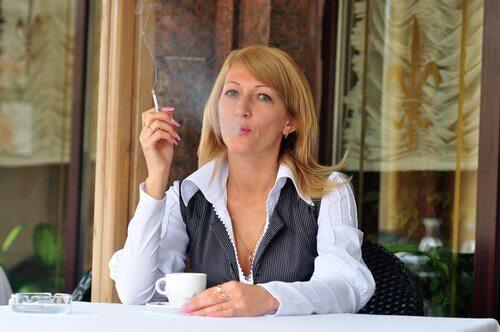 Roken en cafeïne