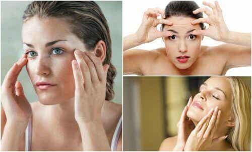 Voorkom verslapping van de gezichtshuid met deze 6 oefeningen