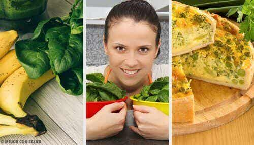 5 gezonde spinazierecepten om elke dag van te genieten