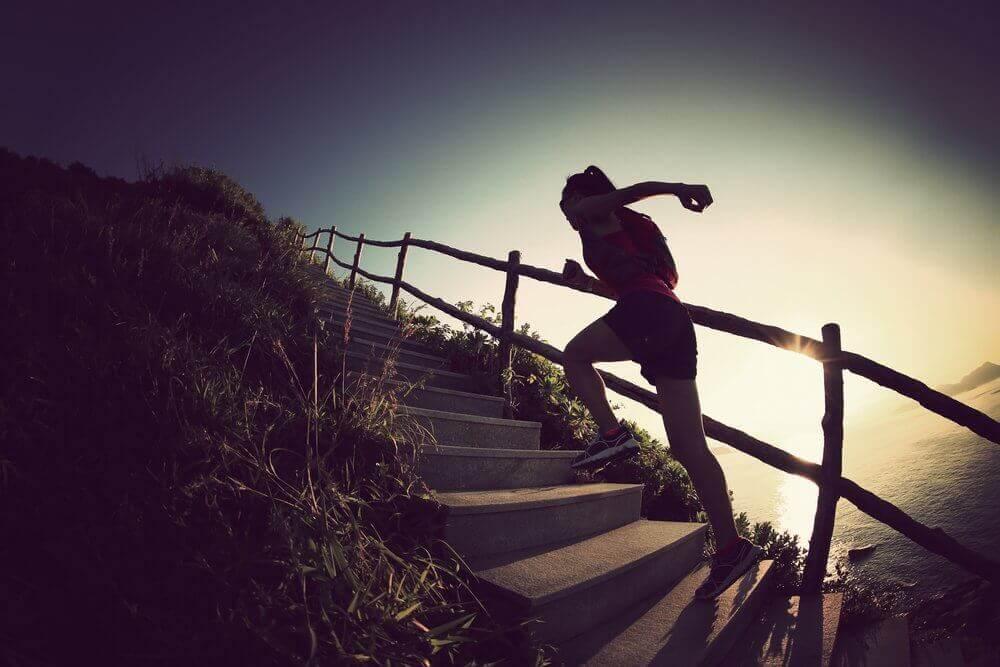 Snel stevigere benen door trappen te beklimmen