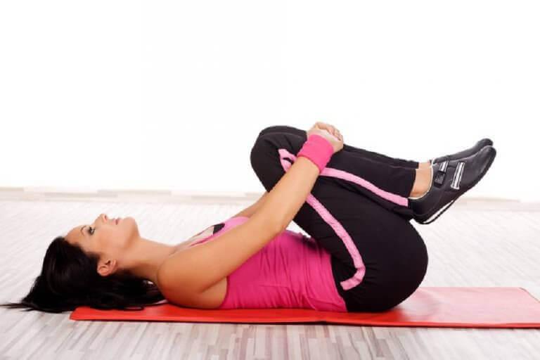 Oefening voor sterkere knieën