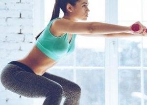 Squatten voor sterkere knieën