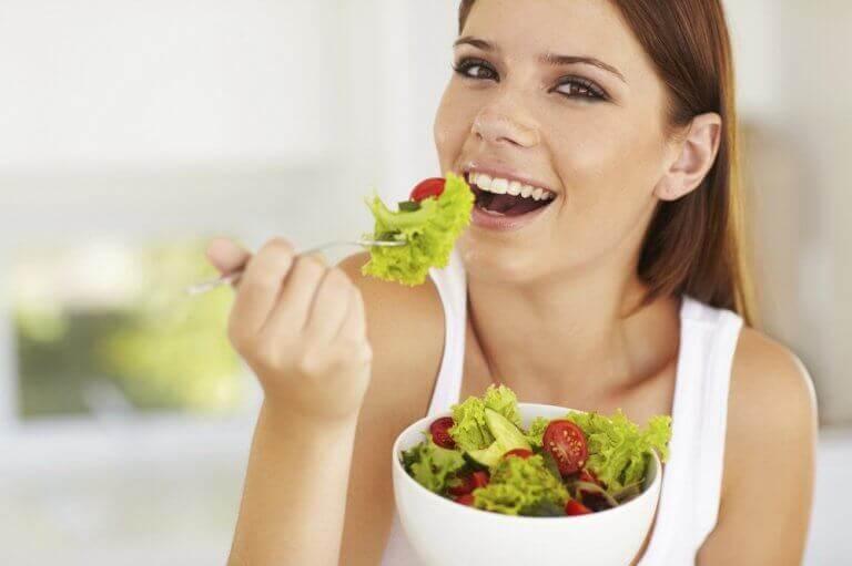 Gezond dieet voor een zuivere huid