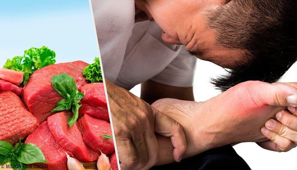 7 voedingsmiddelen die je urinezuurgehalte verhogen