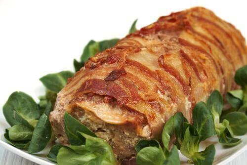 Vlees met kruiden