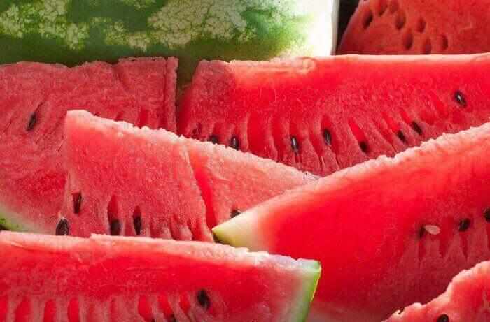 Watermeloen voor snel gewichtsverlies