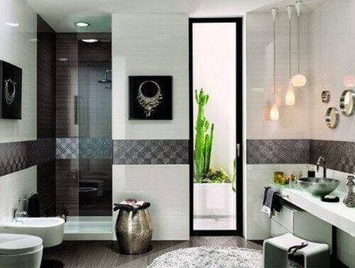 Het niet hebben van ventilatie bij de decoratie van je badkamer