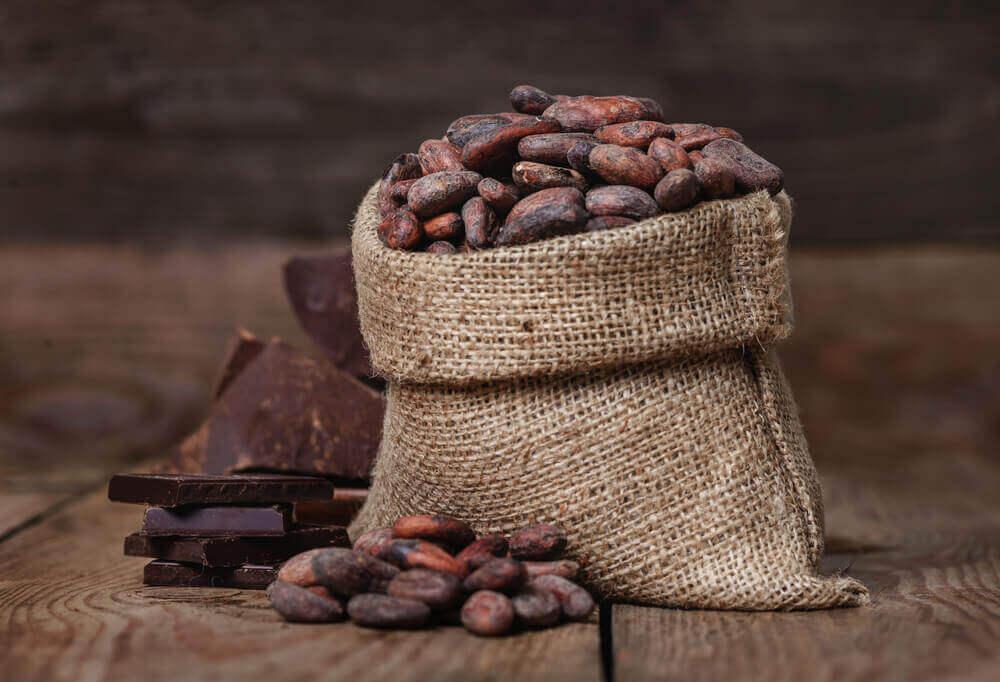 Droge huid hydrateren met cacao