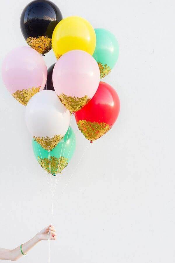 Versieren met ballonnen: laat het schitteren
