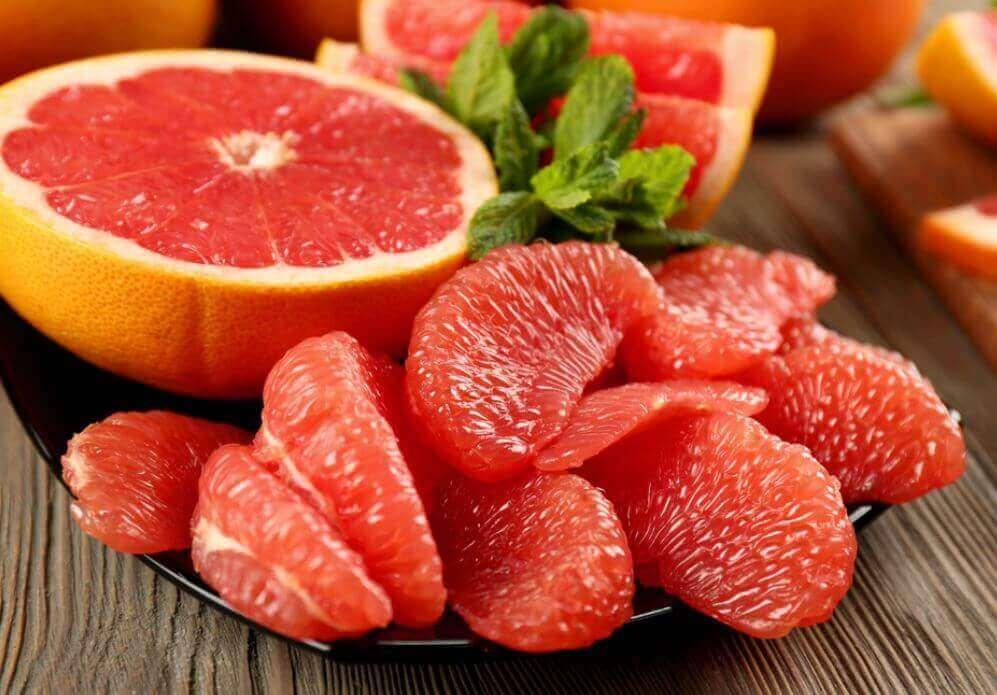 Grapefruit voor snel gewichtsverlies